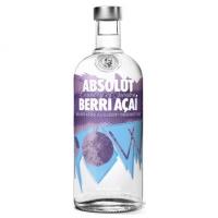 Absolut Berri Acai Swedish Grain Vodka 750ml