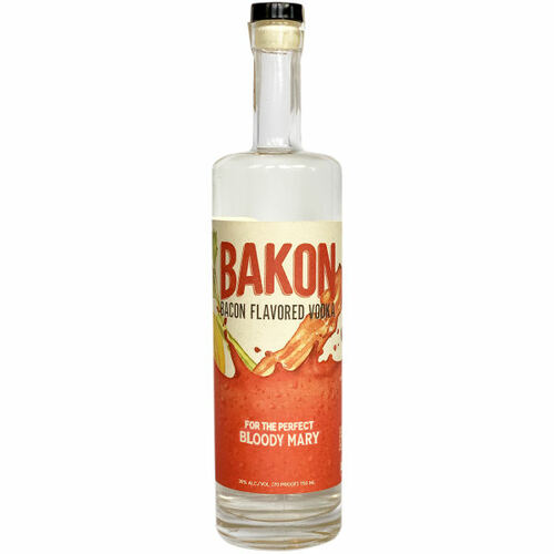 Bakon Bacon Flavored Potato Vodka 750ml