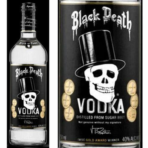 Black Death Sugar Beet Vodka 750ml