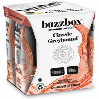 Buzzbox Classic Greyhound Cocktails 200ml 4 Pack