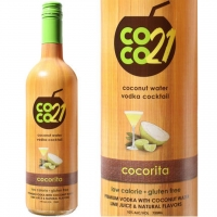 Coco21 CocoRita Coconut Water Vodka Cocktail 750ml