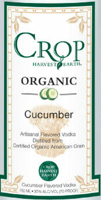 Crop Organic Cucumber Flavored Grain Vodka 750ML