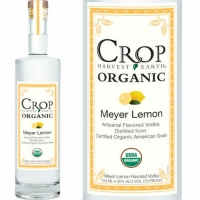Crop Organic Meyer Lemon Flavored Grain Vodka 750ML