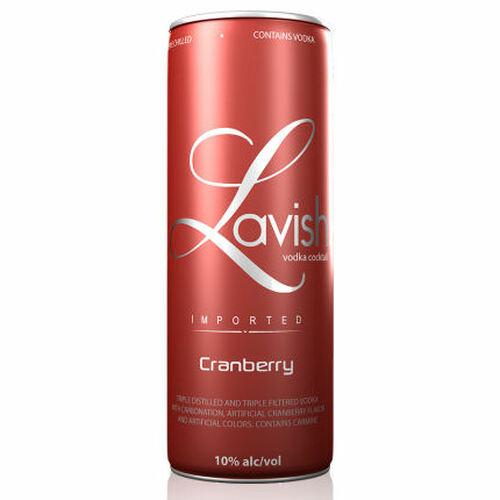 Lavish Cranberry Vodka Cocktail Can 355ml Liquor Store