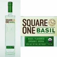 Square One Organic Basil Flavored Vodka 750ml