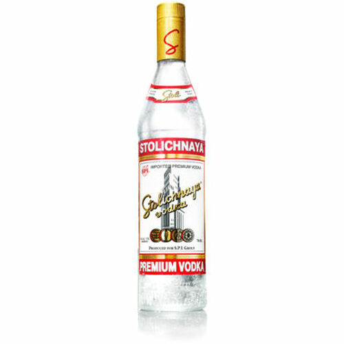 Stolichnaya Premium Russian Grain Vodka 750ml
