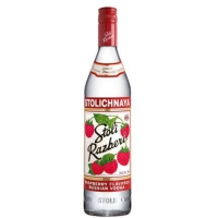 Stolichnaya Razberi Russian Grain Vodka 750ml