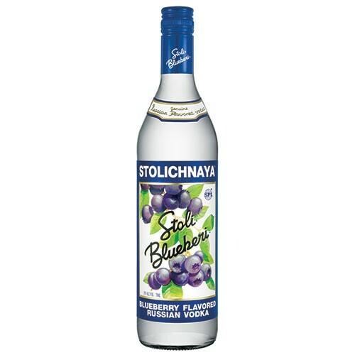 Stolichnaya Vanil Russian Grain Vodka 750ml Rated 96-100