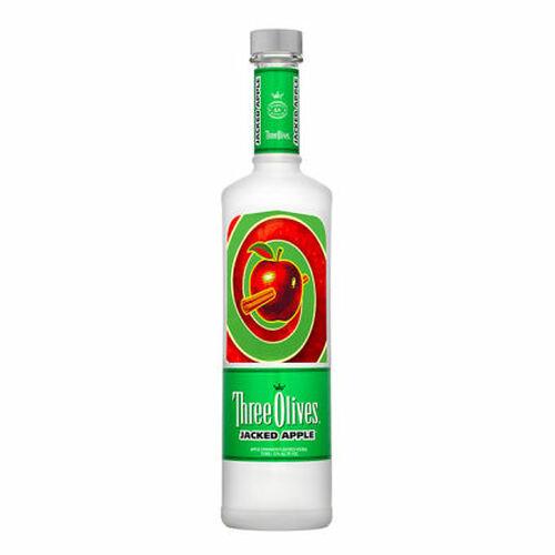 Three Olives Jacked Apple Vodka 750ml