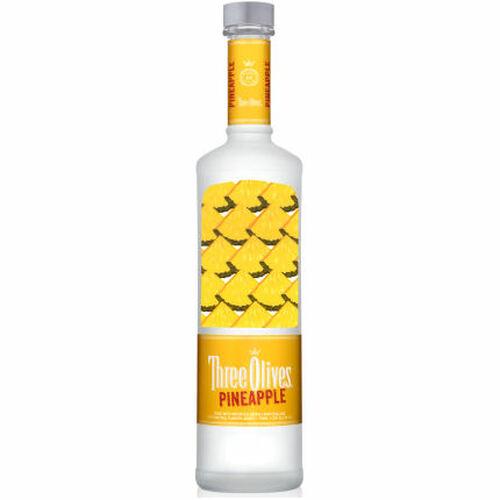 Three Olives Pineapple Vodka 750ml
