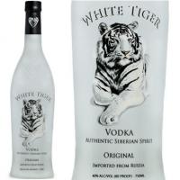 White Tiger Siberian Vodka 750ml