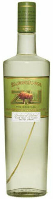 Zu Zubrowka Bison Grass Rye Polish Vodka 1L