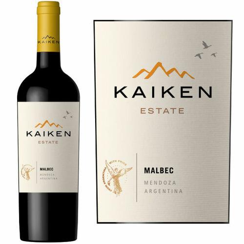 12 Bottle Case Kaiken Estate Mendoza Malbec (Argentina) 2019