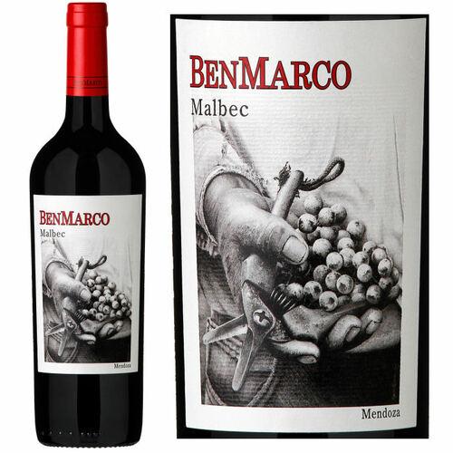 BenMarco Mendoza Malbec 2018 (Argentina) Rated 93JS
