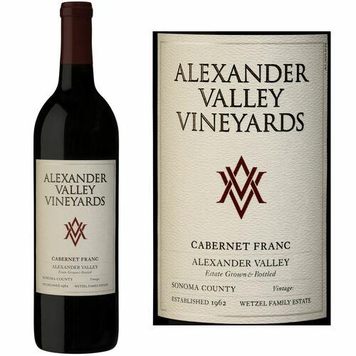 Alexander Valley Vineyards Wetzel Family Estate Alexander Cabernet Franc 2018