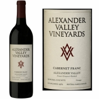 Alexander Valley Vineyards Wetzel Family Estate Alexander Cabernet Franc 2018