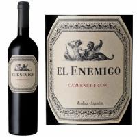 El Enemigo Mendoza Cabernet Franc 2017 Rated 95TA