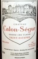 Chateau Calon Segur St. Estephe 2000 Rated 91+WA