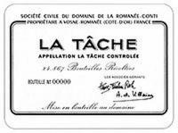 DRC Domaine de la Romanee-Conti La Tache 2015 Rated 98WA