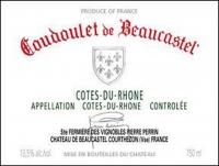Chateau Beaucastel Coudoulet de Beaucastel Cotes du Rhone Rouge 2014