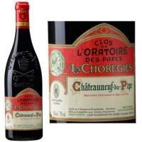 Clos de L'Oratoire Des Papes Les Choregies Chateauneuf du Pape 2012 Rated 91WA