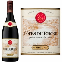 E. Guigal Cotes Du Rhone Rouge 2015 Rated 91WA