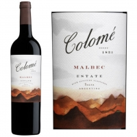 Bodega Colome Estate Malbec 2015 (Argentina) Rated 92WS #18 Wine Spectator Top 100 of 2017