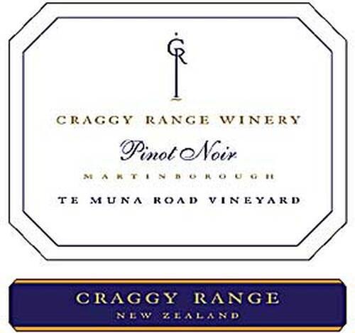 Craggy Range Te Muna Road Vineyard Pinot Noir 2017 (New Zealand)