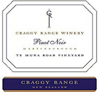 Craggy Range Te Muna Road Vineyard Pinot Noir 2011 (New Zealand) Rated 92+WA