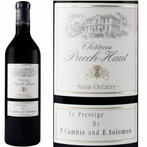 Chateau Puech Haut Coteaux du Languedoc Prestige Red 2017 (France) Rated 90WA