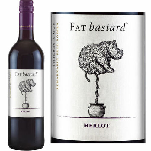 Fat Bastard by Thierry & Guy Merlot 2019