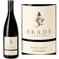 Brady Vineyard Paso Robles Petite Sirah 2018 Rated 91WE CELLAR SELECTION