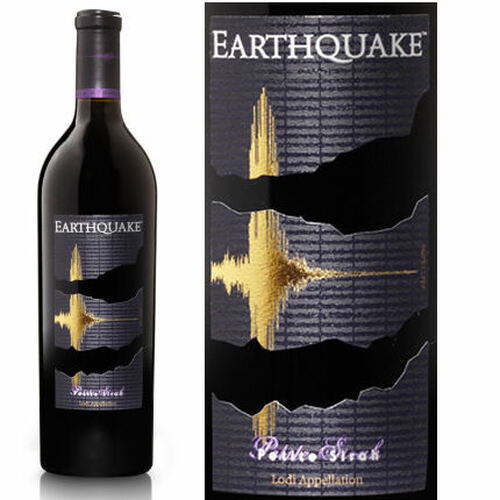 Earthquake by Michael David Winery Lodi Petite Sirah 2017