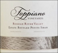 Foppiano Estate Russian River Petite Sirah 2012