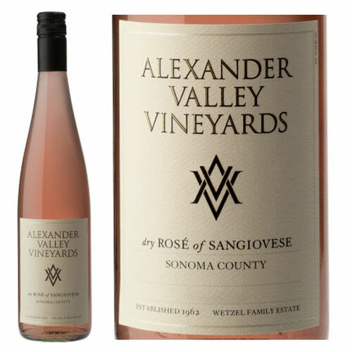 Alexander Valley Vineyards Sonoma Rose of Sangiovese 2020