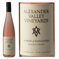 Alexander Valley Vineyard Sonoma Rose of Sangiovese 2016