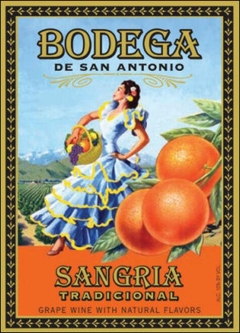 Bodega de San Antonio Sangria Tradicional California