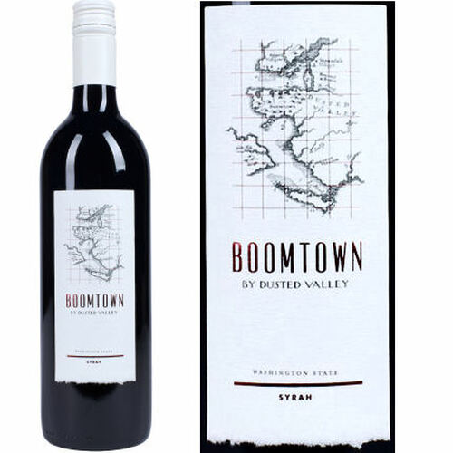 Boomtown By Dusted Valley Washington State Syrah 2013