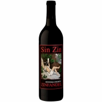 Alexander Valley Vineyards Sin Zin Zinfandel 2015 Rated 95