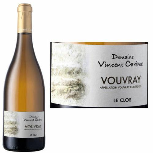 Domaine Vincent Careme Le Clos Vouvray 2015 Rated 91WS