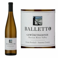 Balletto Russian River Gewurztraminer 2018
