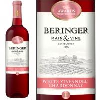Beringer Main & Vine California White Zinfandel Chardonnay NV