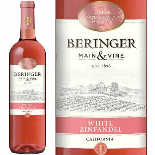 Beringer Main & Vine American White Zinfandel NV