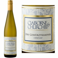 Claiborne & Churchill Central Coast Dry Gewurztraminer 2019