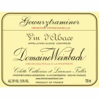 Domaine Weinbach Alsace Gewurztraminer Reserve Personnelle 2016