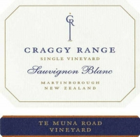 Craggy Range Te Muna Vineyard Sauvignon Blanc 2018 (New Zealand)