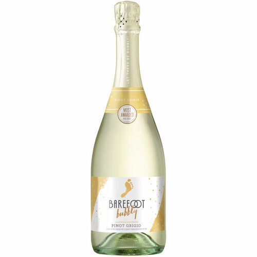 Barefoot Bubbly Sparkling Pinot Grigio Champagne NV