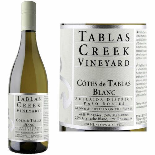 Tablas Creek Cotes de Tablas Blanc 2018 Rated 90-92WA