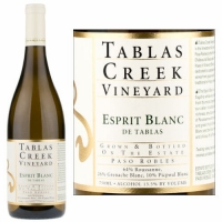 Tablas Creek Esprit Blanc de Tablas 2012 Rated 92WS