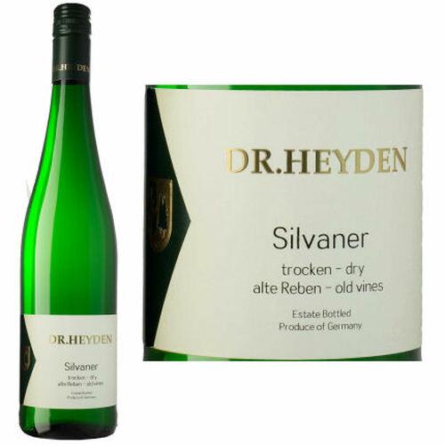 Dr. Heyden Sylvaner Trocken Alte Reben Qualitaswein 2016 (Germany)